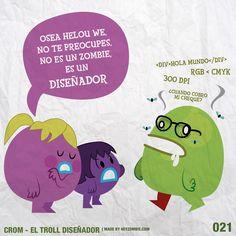 Crom el Troll Diseñador 021
