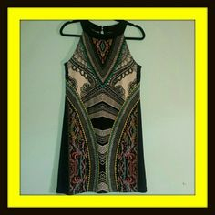 Apt.9 Halter Dress M 96% Polyester 4 % Spandex Apt. 9 Dresses
