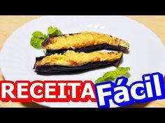 RECEITA FÁCIL DE BERINJELA RECHEADA E GRATINADA - YouTube #youtube #receita #video #delicia #gostoso #saude #gastronomia #berinjela #recheada #salgado #tathyanasayury #youtubevideo #receitafacil