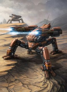 Assault Drone by LeonovichDmitriy on deviantART