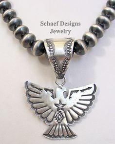 Vince Platero Thunderbird Pendant for Schaef Designs Jewelry