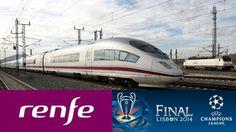 Renfe saca dispositivo especial de trenes para la Final de  Champions