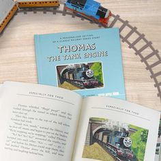 The classic railway series made for you. This beautiful bespoke book is a reproduction of the original first appearance of Thomas the Tank engine within Rev. Awdry's classic railways series of stories. Thomas The Tank, Little Ones, Engineering, Classic, Books, Train, Gift Ideas, Livros, Electrical Engineering