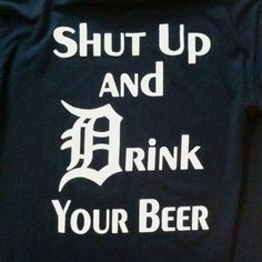 Detroit Tigers - Opening Day shirt :)
