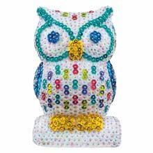 Owl 3-D  Sequin Kit - Herrschners