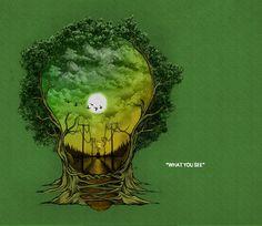 """Pohon"" by Aziz Jamaal"