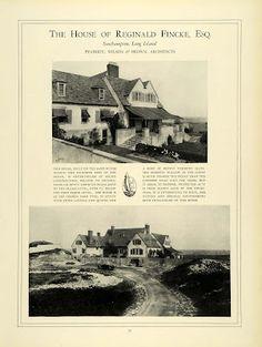 The Reginald Fincke Sr. estate designed by Peabody, Wilson & Brown c. 1924.