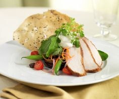 'Moroccan Chicken Salad' served at the Main Dining Room