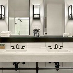 Ledge above sink