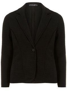 Black quilted blazer - Jackets & Coats  - Clothing
