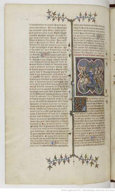 Grandes Chroniques de France Fol 436v, 1375-1380, Henri du Trévou & Raoulet d'Orléans