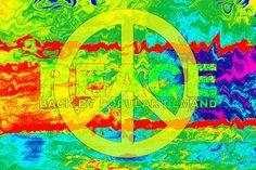 """""""Peace"""" ✌Peace Sign Art"""