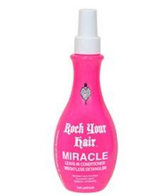 Rock Your Hair MIRACLE detangler www.rejuvecareclinic.com