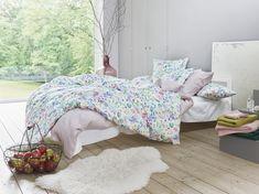 Satin Noblesse, Audrey col. blanc Noblesse, Comforters, Satin, Blanket, Bed, Furniture, Home Decor, Bedding, Bed Drapes