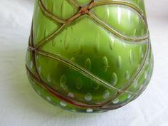 Lötz Kralik Pallme König Vase Jugendstil Jugendstilvase riesig in Antiquitäten & Kunst, Glas & Kristall, Sammlerglas | eBay!