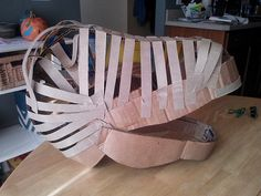 CAM00258 | The final cardboard strips have been attached, wi… | Flickr