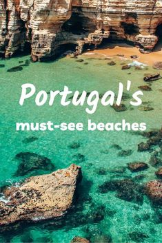 Lisbon Beaches, Best Beaches In Portugal, Portugal Travel, Spain Travel, Portugal Trip, Amazing Destinations, Vacation Destinations, World Most Beautiful Place, Holiday Resort