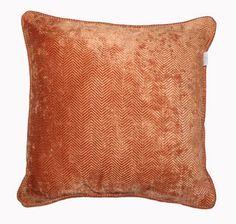 Emperor Filled Cushion - Orange