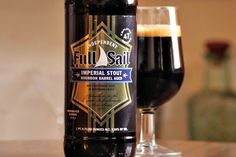 Full Sail Bourbon Barrel Aged Imperial Stout © Food Loves Beer