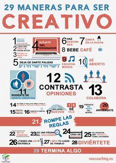 La creatividad también se puede entrenar. 29 maneras de mejorarla #websoc13