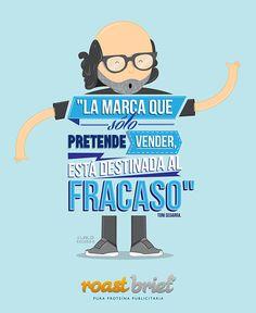 Lalo Recoba y Roast Brief:  IV Congreso Internacional de Publicidad Roast Brief México