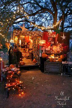 Fortune Teller Halloween in the Gypsy Garden    #Halloween #gypsy #fortuneteller