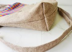 Jute Handloom Foldover Tote Bag Jute Fabric, Everyday Bag, Custom Bags, Sewing Projects For Beginners, Travel Gifts, Casual Bags, Handmade Bags, Mother Gifts, Purses And Bags