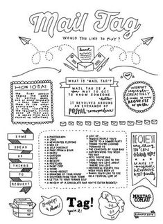 Mail tag how to. Snail mail tag, mail tag ideas