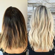 TRANSFORMATION: Faded Ombre To Dimensional Sombre | Modern Salon
