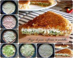 Pizza di pane raffermo,cottura in padella | Il mondo di Adry