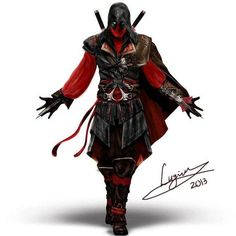 Deadpool Assassin's Creed Mashup