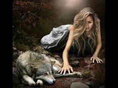 donna con lupo - Cerca con Google