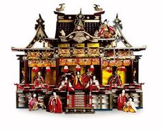 Antique Japanese Doll House