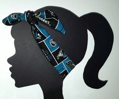 "San Jose Sharks Headband with NHL Sharks broadcloth fabric. The perfect accessory to show your team spirit. Measurements: 34"" Long x 3"" Wide W A S H For long lasting wear, I definitely recommend eithe"