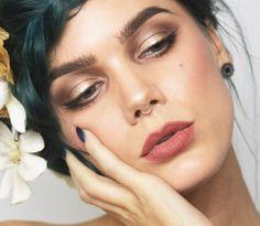 【ρinterest: LizSanez✫☽】 pearly  - Linda Hallberg Makeup