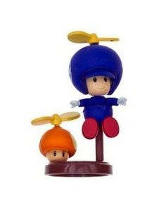 Furuta Choco Egg Wii 3 Super New Mario Bros Figure Figurine Question Block Star