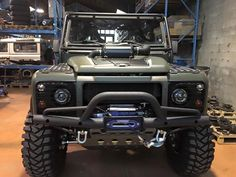 Awsome bull bar for landrover