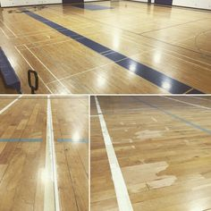 It's the Auxiliary Gym's turn!!! It should look like new again in a couple of weeks. #CactusHighSchool #GymFloor #HardwoodFloors #BasketballCourt #ArizonaGymFloors #ArizonaHardwoodFloors #Excalibur #GymFloorRefinishing #ALotofstriping #Cobras #Refinishing  www.excaliburhardwoodfloors.com