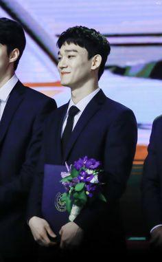 Chen - 171103 2017 Korean Pop Culture and Arts Awards Credit: Virgo. (2017 대한민국 대중문화예술상 시상식)