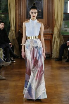Paris Couture: Ronald van der Kemp on why you cannot have clothes for the price of a cappuccino 2010s Fashion, Fashion 2018, Party Fashion, Fashion Week, High Fashion, Fashion Dresses, Fashion Spring, Helmut Lang, Adeline André