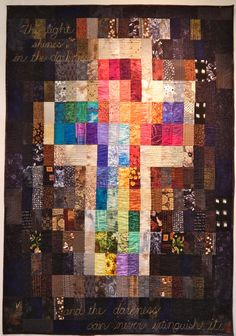 Scripture on quilts