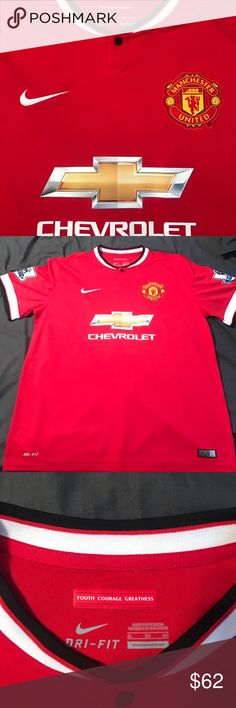 0d85c348f Manchester United Home Wayne Rooney Jersey. Never worn Manchester United  Home Wayne Rooney Jersey.