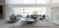Discover the design furniture selection and the SOFAS & SOFA BEDS family, selected for you by Roche Bobois amongst the best designers Sofa Design, Canapé Design, Interior Design, Upholstered Furniture, Furniture Sets, Furniture Design, Pine Plywood, Square Side Table, Sectional Sofa