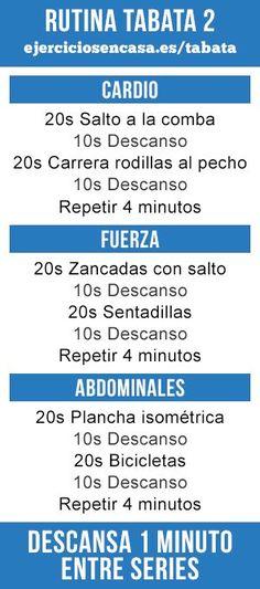 ^^ Ponte en forma en 15 minutos con esta rutina tabata :) #PilatesenCasa