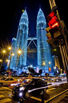 #ridecolorfully Petronas Towers, Kuala Lumpur, Malaysia
