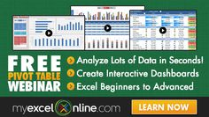 Sort an Excel Pivot Table Manually - How to Sort an Excel Pivot Table Manually with just one click! I show you how in this free Excel Pivot Table tutorial. Excel Cheat Sheet, Microsoft Excel Formulas, Bubble Chart, Interactive Dashboard, Create A Chart, Excel Hacks, Excel Budget Template, Pivot Table, Online Training Courses