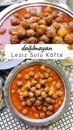 Juicy Meatball Recipe, Meatball Recipes, Turkish Recipes, Ethnic Recipes, Food Picks, Breakfast Lunch Dinner, Chana Masala, Food To Make, Food And Drink