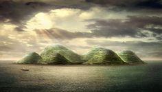 HavvAda - Dror presents a self-sustaining island concept for 300,000 residents off the coast of Istanbul
