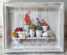 Visite o site e veja na linha Casa. Newspaper Crafts, Cork Crafts, Diy And Crafts, Vitrine Miniature, Miniature Rooms, Box Frame Art, Doll House Crafts, Shadow Box Art, Paper Crafts Origami