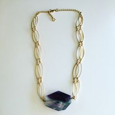A personal favorite from my Etsy shop https://www.etsy.com/listing/473067459/glam-rock-rainbow-fluorite-necklace-with